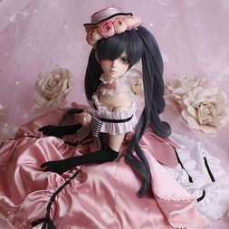 Black Butler Ciel Phantomhive Cast Doll - Erithacus Dress Ver.