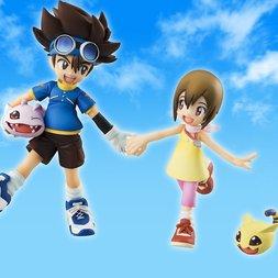 G.E.M. Series Digimon Adventure Taichi & Hikari w/ Koromon & Nyaromon