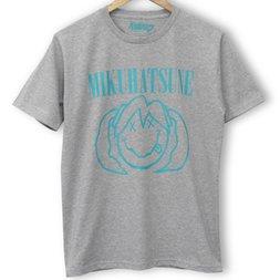 Hatsune Miku Smile Heather Gray T-Shirt
