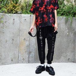 ACDC RAG Studded Sarouel Pants