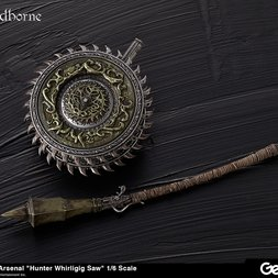 Bloodborne Hunter's Arsenal: Whirligig Saw 1/6 Scale Weapon