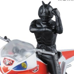 Mecha Collection Kamen Rider New Cyclone & Kamen Rider 2