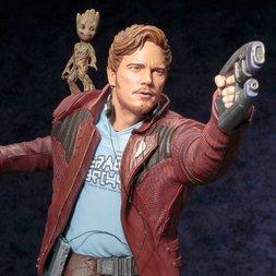 ArtFX Guardians of the Galaxy Vol. 2 Star‐Lord w/ Groot