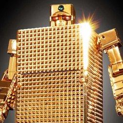 Soul of Chogokin Golden Warrior Gold Lightan GX-32R Gold Lightan: 24-Karat Gold Plating Ver.