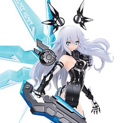 CharaGumin Hyperdimension Neptunia Black Heart 1/8 Scale Garage Kit