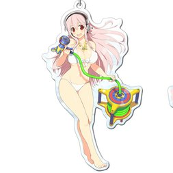 Senran Kagura: Peach Beach Splash Super Sonico Acrylic Keychain
