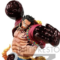One Piece Monkey D. Luffy Kong Gun Crimson Color Ver.