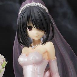 Date A Live Kurumi Tokisaki: Pink Wedding Ver. 1/7 Scale Figure