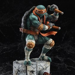 Teenage Mutant Ninja Turtles Michelangelo Statue