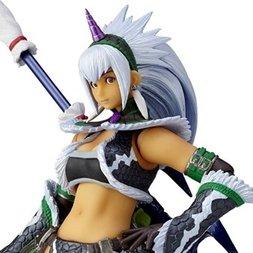 Vulcanlog Monster Hunter: Hunter Swordswoman Kirin U Ver. Figure