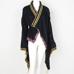 Ozz Oneste Yagasuri Kimono-Style Cardigan