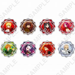 Fate/Extra: Last Encore Clear Stained Charm Collection Box Set