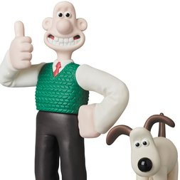 Ultra Detail Figure Aardman Animations #1: Wallace & Gromit