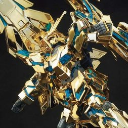 HGUC 1/144 Gundam NT Phoenix Destroy Mode Narrative Ver. Gold Coating