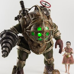 Bioshock Big Daddy & Little Sister 1/6th Scale Collectible Figure