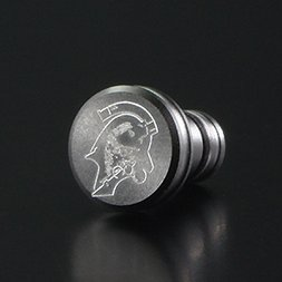 Kojima Productions × Gild Design Ludens Aluminium Earphone Jack Cover