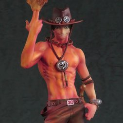 One Piece SCultures Portgas D. Ace: Burning Color Ver.