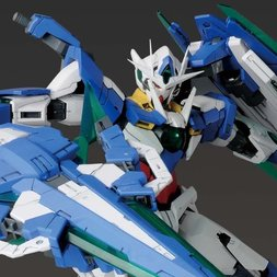 MG Mobile Suit Gundam 00V: Battlefield Record 1/100 Scale 00 QAN[T] Full Saber