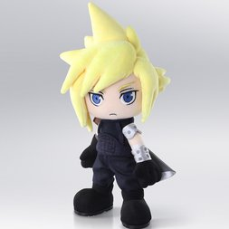 Final Fantasy VII Action Doll Cloud Plush
