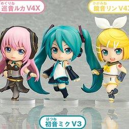 Nendoroid Petite: Character Vocal Series Hatsune Miku Renewal Trading Figures