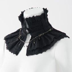 Ozz Oneste Pleated Detachable Collar