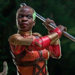 Battle Diorama Series Black Panther 1/10 Scale Okoye