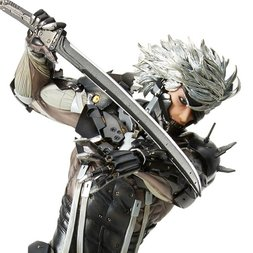 mensHdge Technical Statue No. 33: Metal Gear Rising: Revengeance Raiden