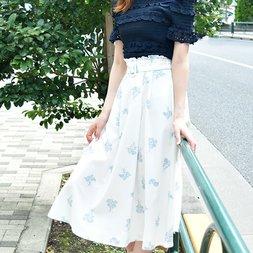 LIZ LISA Margaret Pattern Skirt