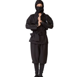 Black Ninja Cosplay Set