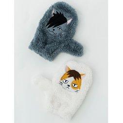 Haikyu!! Nekoma High Mofu Mofu Gloves