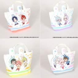 IDOLiSH 7 Fluffy Pocket Tote Bag Collection
