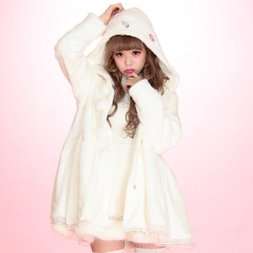 Swankiss Warm & Cozy Hooded Coat