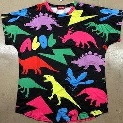 ACDC RAG Dinosaur Black T-Shirt