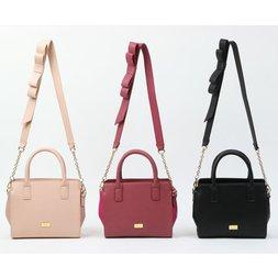 Honey Salon Shoulder Ribbon Bag