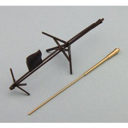 Super Weapon Series Valkyria Chronicles Edelweiss 1/35 Scale Metal Antenna Set