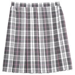 Teens Ever Gray x Pink High School Uniform Skirt