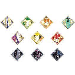 IDOLiSH 7 MEMORiES MELODiES & Leopard Eyes 10-Piece Costume Brooch Set
