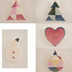 Sumurira Neige Ornament Cushions
