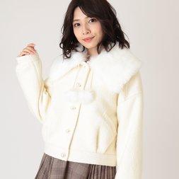 LIZ LISA Fur Collar Coat