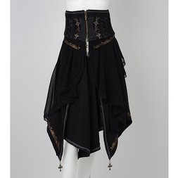 Ozz Oneste Autumn Rose Corset w/ Skirt