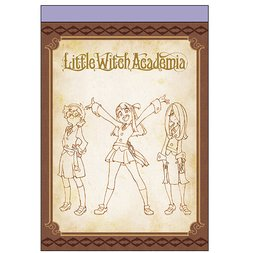Little Witch Academia Key Frame Notepad