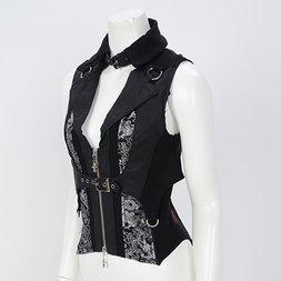 Ozz Oneste Dragon Embroidered Vest