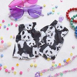 ACDC RAG Panda Fingerless Gloves