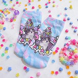 ACDC RAG Pastel Cat Socks