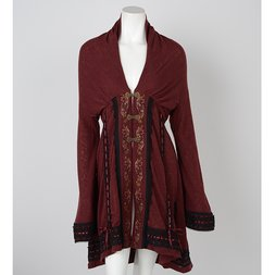 Ozz Oneste Autumn Rose Dolman Cardigan