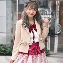 LIZ LISA Many Ribbons Jacket