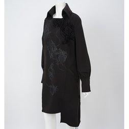 Ozz Croce Asymmetrical Long Coat