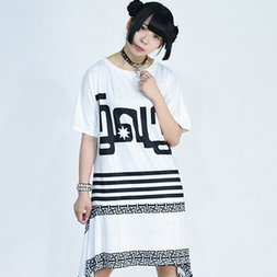 ACDC RAG 4 Lines T-Shirt Dress