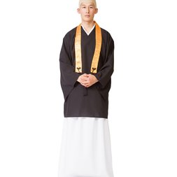 Buddhist Monk Cosplay Set