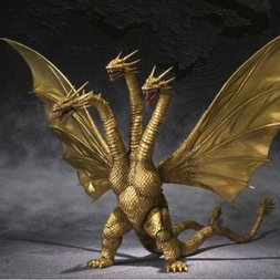 S.H.MonsterArts King Ghidorah Special Color Ver.